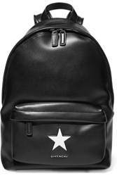 Givenchy Medium Backpack In Black And White Leather