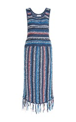 Derek Lam 10 Crosby Multicolored Striped Dress