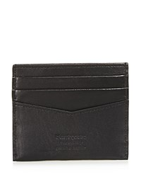 Bloomingdale's The Men's Store At Smooth Leather Card Case Black