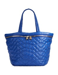 Dolce Vita Quilted Tote Bag Royal