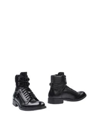 Thompson Ankle Boots Black