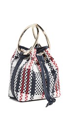 Maison Boinet Small Plaid Bucket Bag M0 3