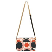 Orla Kiely Scallop Flower Small Cross Body Bag Pink Multi