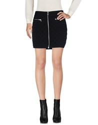 Maison Scotch Mini Skirts Black
