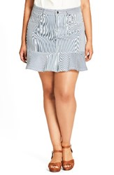 City Chic Plus Size Women's Cute Ruffle Skirt