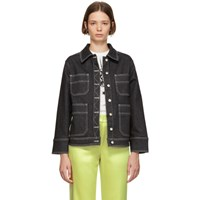 Alexachung Black Workwear Jacket