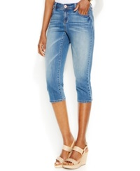 Inc International Concepts Capri Skinny Jeans Crawford Wash