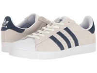 Adidas Superstar Vulc Adv Crystal White Collegiate Navy Footwear White Skate Shoes Crystal White Collegiate Navy Footwear White