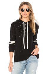 Central Park West Greenwich Ave Crew Hoodie Black