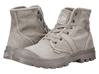 Palladium Pallabrouse Titanium High Rise Men's Lace Up Boots Gray