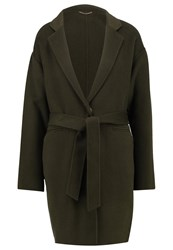 2Nd Day Classic Coat Forest Night Dark Green