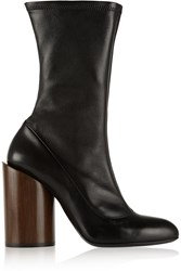 Givenchy Boots In Black Stretch Leather