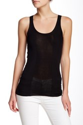 Inhabit Solid Tank Black