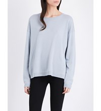 Closed Oversized Waffle Knit Jumper Grey
