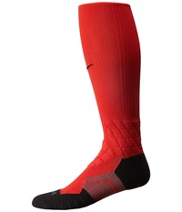 Nike Elite Vapor Football University Red University Red Black Men's Crew Cut Socks Shoes