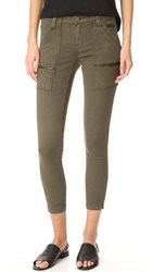 Joie Park Skinny Utility Cargo Pants Fatigue