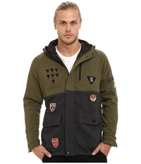 Staple Combat Parka Olive Men's Coat