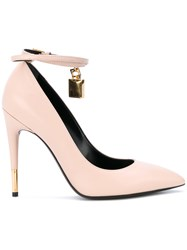 Tom Ford Heeled Pumps Women Calf Leather Leather 36 Nude Neutrals