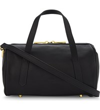 Moandco. Leather Bowling Bag Black
