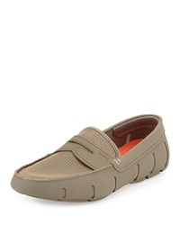 Swims Rubber Penny Loafer Khaki