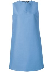 Aspesi Sleeveless Midi Dress Blue