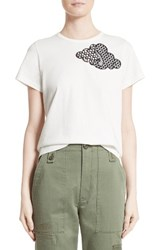 Marc Jacobs Women's Embroidered Cloud Tee