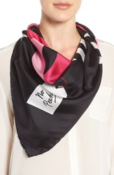 Kate Spade Women's New York Present Silk Square Scarf