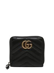 Gucci Small Gg Marmont 2.0 Leather Zip Wallet