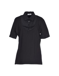 Kangra Cashmere Polo Shirts Black