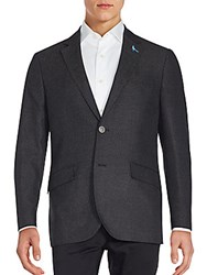 Tailorbyrd Van Gogh Solid Sportcoat Charcoal