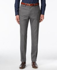 Kenneth Cole Reaction Men's Slim Fit Stretch Dress Pants Only At Macy's Medium Grey