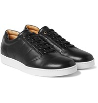 Want Les Essentiels Lennon Leather Sneakers Black
