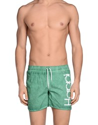 Happiness Swimwear Swimming Trunks Men Dark Green