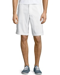 Tailor Vintage Regular Fit Canvas Walking Shorts White