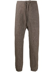 Z Zegna Relaxed Fit Tapered Trousers 60