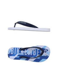 Bikkembergs Thong Sandals Dark Blue