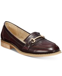 Wanted Cititime Loafers Women's Shoes Burgundy