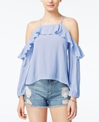 American Rag Off The Shoulder Ruffled Top Only At Macy's Blue Heron