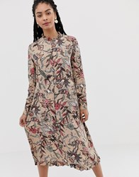 Minimum Moves By Floral Midi Dress Multi
