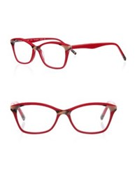 Eyebobs Not Tonight 01 51Mm Cat Eye Reading Glasses Red