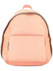 Stella Mccartney Mini Falabella Backpack Yellow Orange