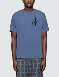 J.W.Anderson Jw Anderson Anchor Print S S T Shirt