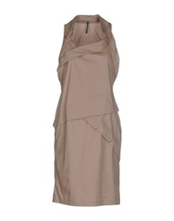 Liviana Conti Dresses Knee Length Dresses Women Dove Grey