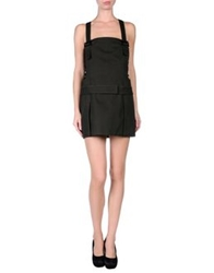 Paco Rabanne Skirt Overalls Dark Green