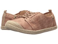 Roxy Flora Lace Up Rose Lace Up Casual Shoes Pink