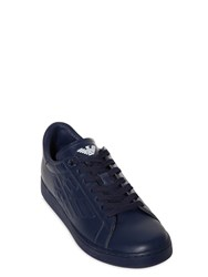 Emporio Armani New Classic Leather Low Top Sneakers