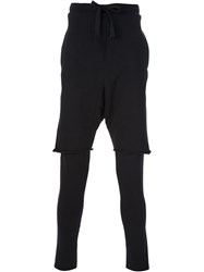 Thom Krom Track Trousers Black