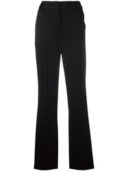 Sportmax Classic Flared Trousers Black