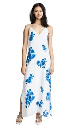Baldwin Denim Frida Dress Blue Floral