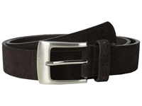 Stacy Adams 32Mm Genuine Suede Leather Chocolate Men's Belts Brown